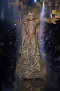 Collection Haute Couture Automne-Hiver 2015 Elie SAAB « Shades of Gold »