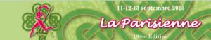 Je m'inscris à La Parisienne, le 13 septembre 2015 à Paris !