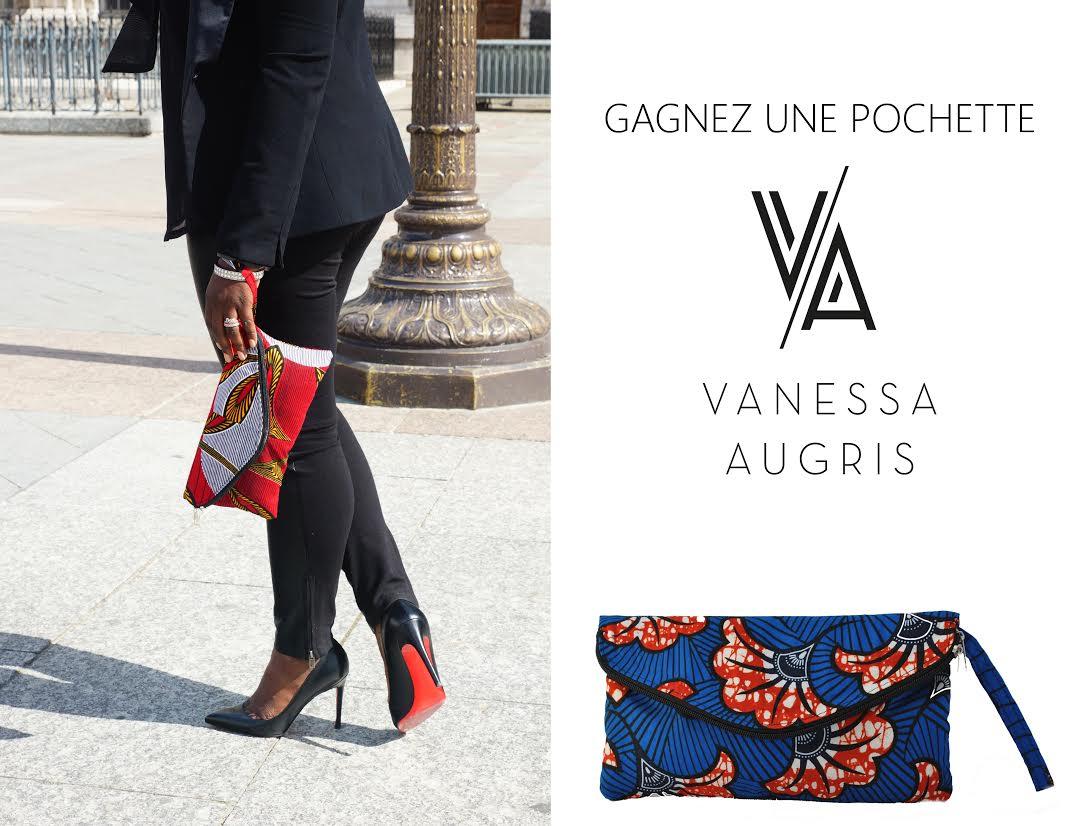 Jeu-concours Vanessa Augris :  tentez de  gagner une pochette  et une rencontre exclusive avec la créatrice Vanessa Augris