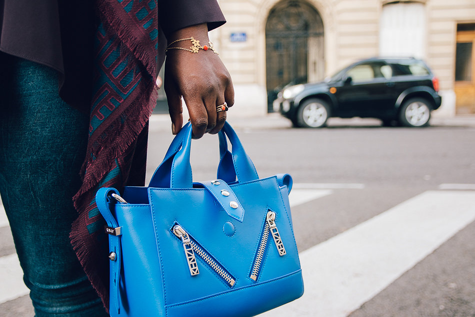 Mini Kalifornia in Blue by KENZO