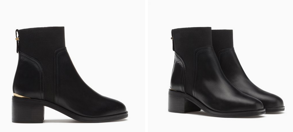 10 PAIRES DE BOTTINES MODE A 100 EUROS STRADIVARIUS 59.95