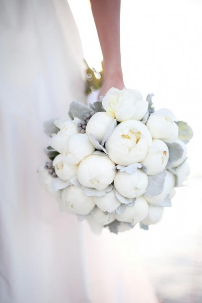 10 BOUQUETS DE MARIAGE D'HIVER