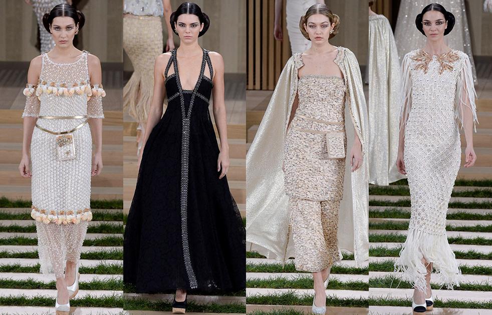 Haute couture printemps-été 2016 : le défilé Chanel