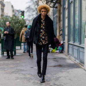 Street looks à la Fashion Week homme à Paris