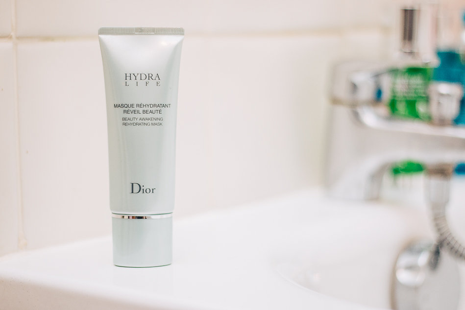 Mon masque réveil beauté  « Hydra Life » de Dior