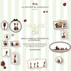 La Maison du Chocolat célèbre les festivités pascales