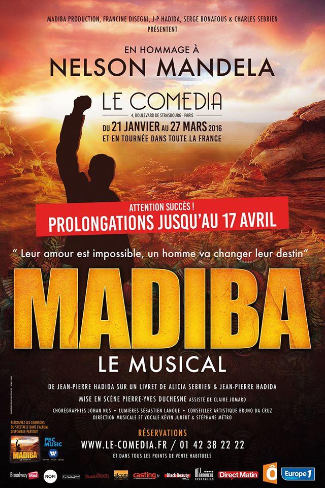 MADIBA LE MUSICAL : HOMMAGE A NELSON MANDELA