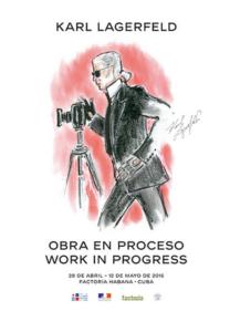 Karl Lagerfeld présente « Obra en Proceso/Work in progress », exposition éphémère regroupant plus de 200 de ses clichés