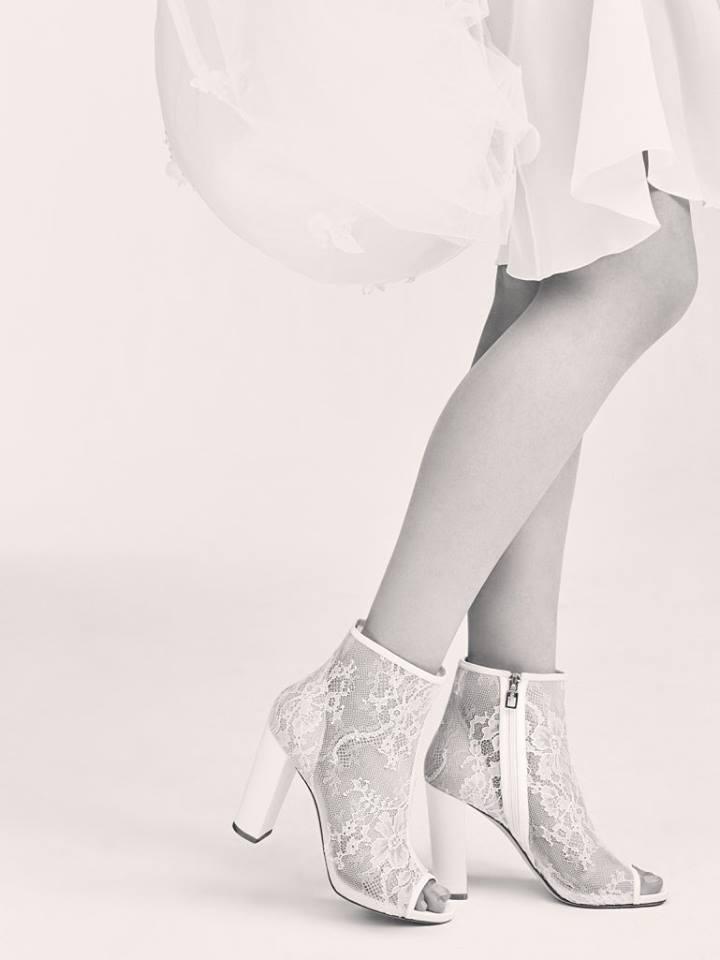 Des chaussures de mariée signées ELIE SAAB