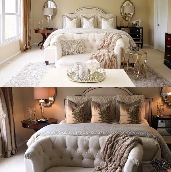 Instagram : s\'inspirer de 10 chambres à coucher... - Nadinez ...