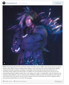 Missy Elliott, star de la nouvelle campagne Marc Jacobs