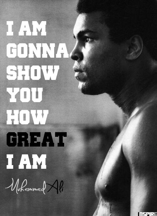 Les citations inspirantes de Muhammad Ali