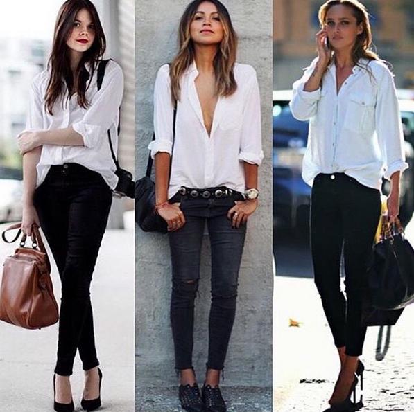 Notre amour pour la chemise blanche