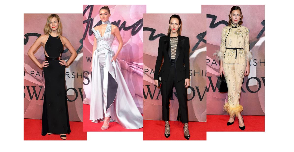 BRITISH FASHION AWARDS 2016 : LES PLUS BELLES TENUES
