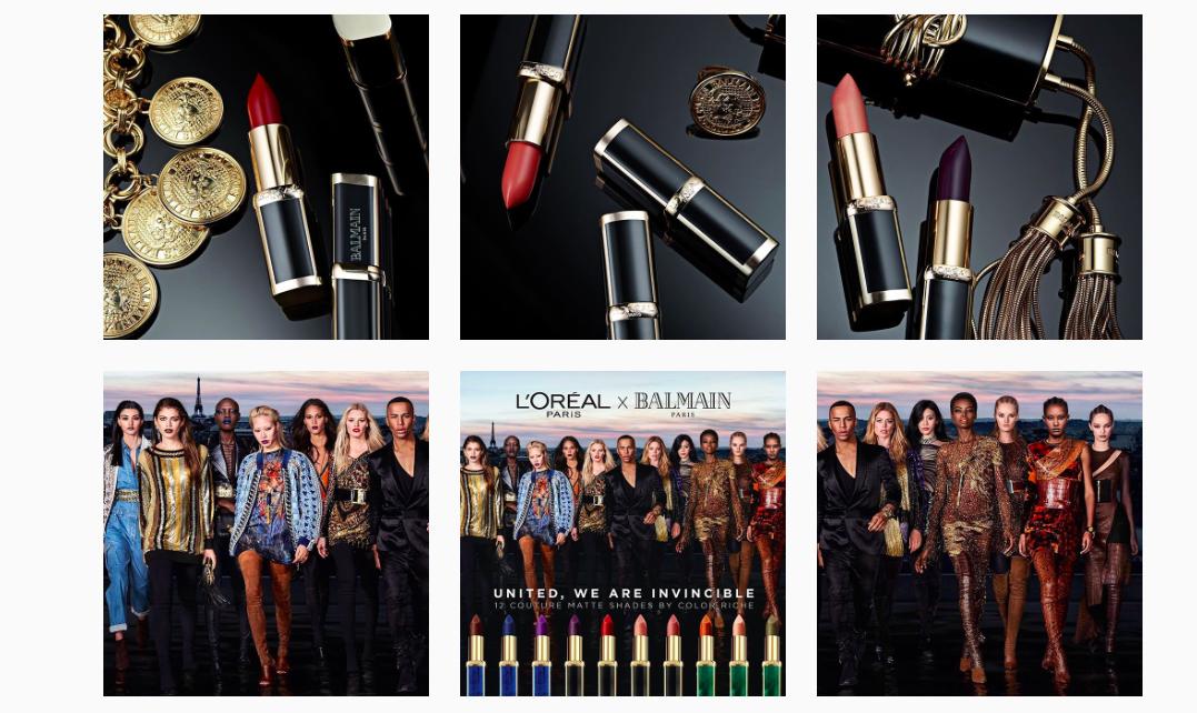 ALERTE BEAUTE COUTURE : LA COLLABORATION L'Oréal Paris X Balmain PARIS
