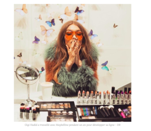 COLLABORATION BEAUTE : MAYBELLINE x GIGI HADID