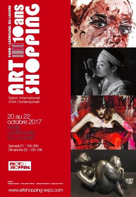 ART SHOPPING DU 20 AU 22 OCTOBRE 2017 DE RETOUR AU CARROUSEL DU LOUVRE