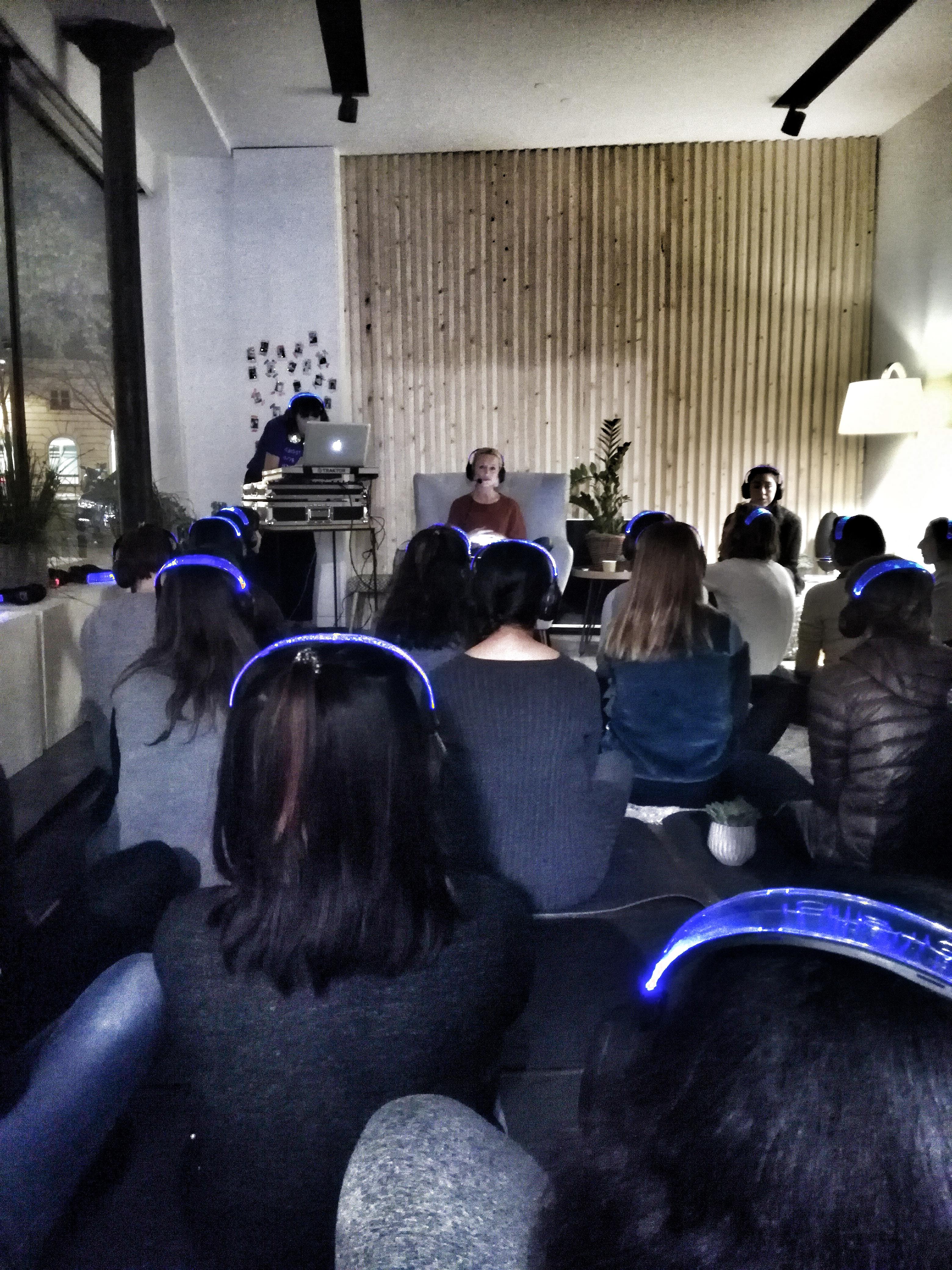 MON EXPERIENCE MEDITATION PARTY AU POP UP STORE JOAWÉ