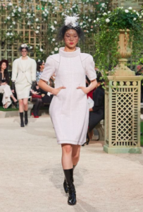 Chanel recrée le Jardin de Versailles pour son défilé haute couture printemps-été 2018