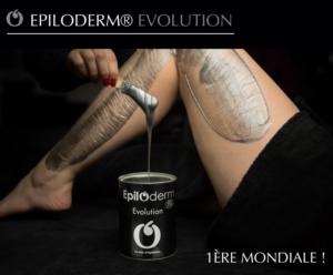 Epilation à la cire: La nouvelle cire Evolution de EPILODERM®