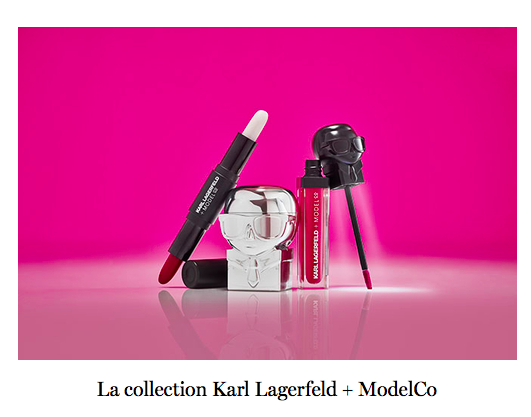Collaboration beauté : Karl Lagerfeld + ModelCo