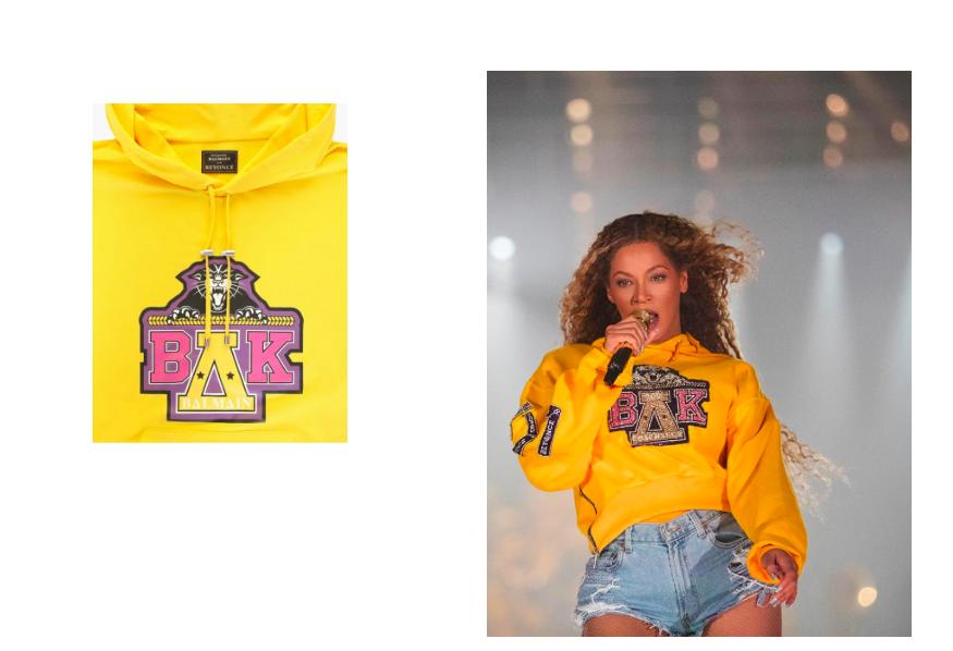Collaboration mode: Maison Balmain x Beyoncé