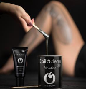 Post-épilation de la cire Evolution de Epiloderm: Plus de 8 semaines sans poils, merci EPILODERM SERUM