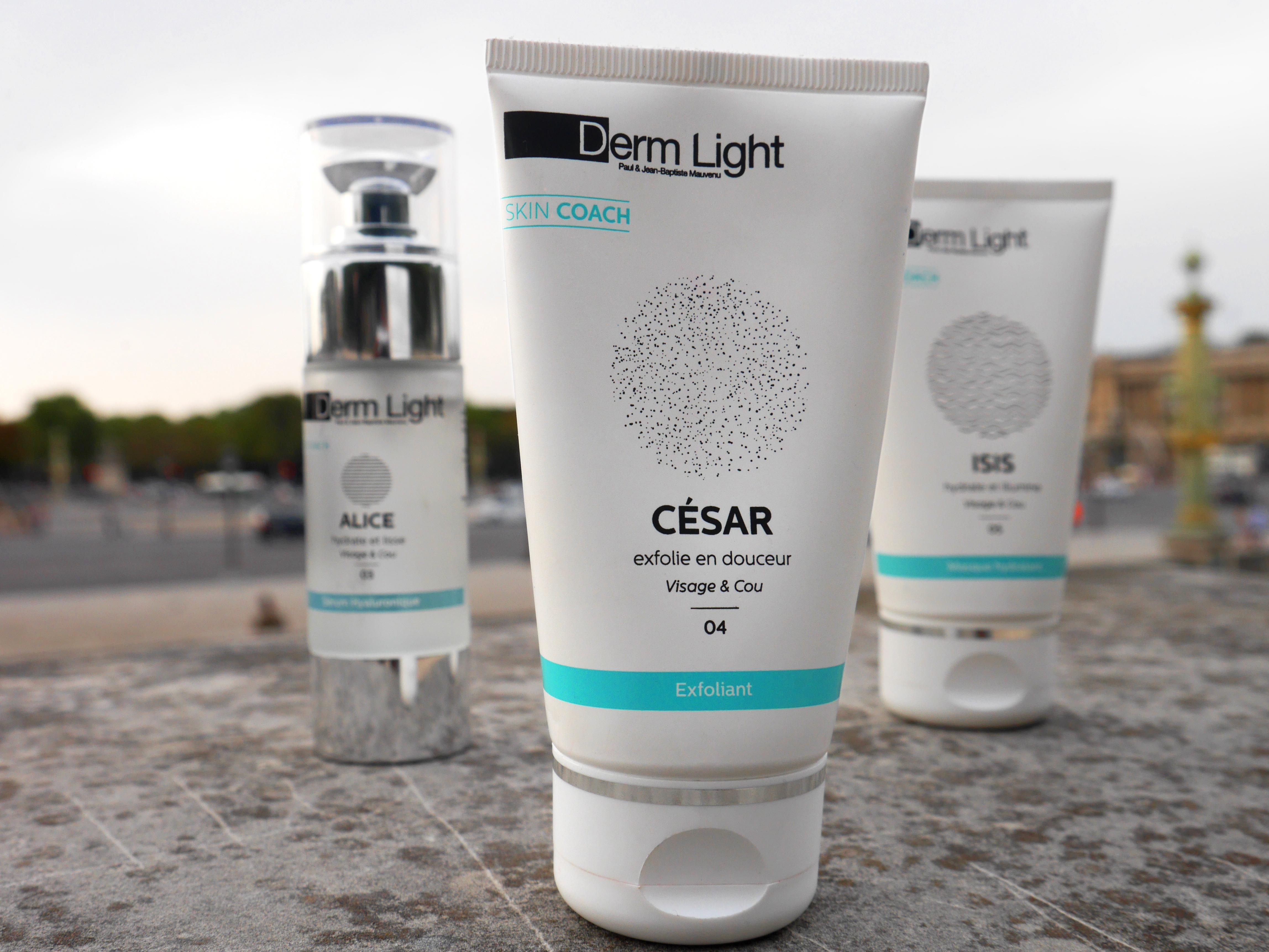 Mes trois essentiels beauté du visage Derm Light signés Dépil Tech : Isis, César et Alice