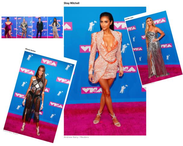 Les plus belles tenues des VMAs 2018