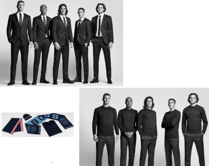 Collaboration mode casual-chic : Paris Saint-Germain x Boss