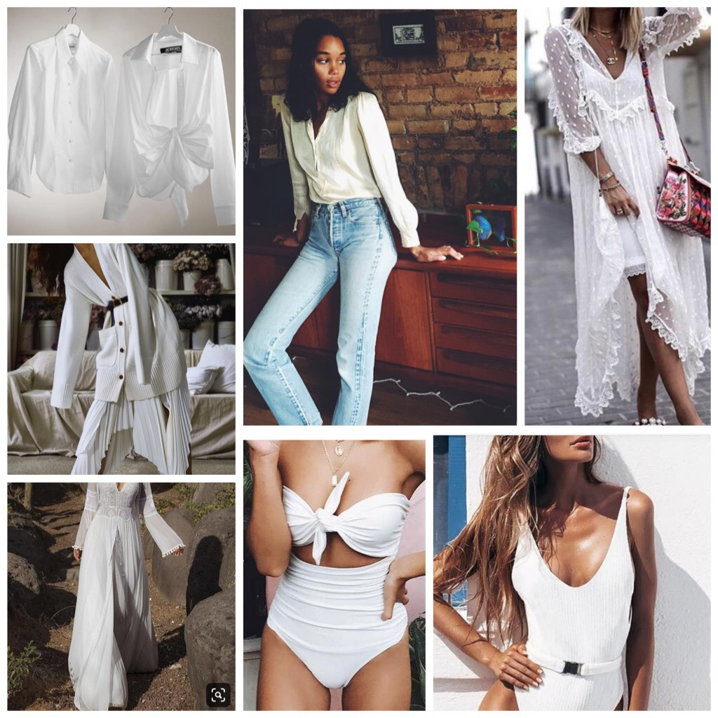 TENDANCES MODE : WHITE FOR SUMMER