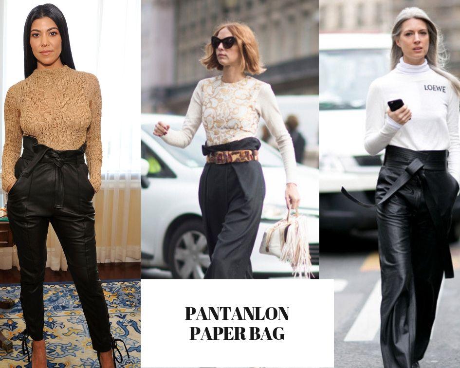 TOUTES EN PANTALON PAPER BAG CE PRINTEMPS-ETE 2019 !