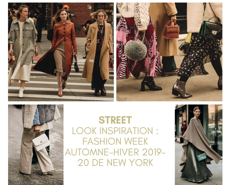 STREET LOOK INSPIRATION : FASHION WEEK AUTOMNE-HIVER 2019-20 DE NEW YORK