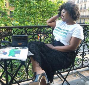 COMORES J'ADORE…LE TEE SHIRT 100% COTON BIO DE SAKINA M'SA