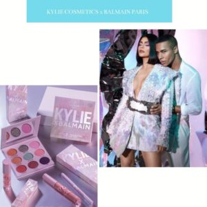 La collaboration beauté surprise de cet automne 2019 : la collection capsule Kylie Cosmetics x Balmain Paris