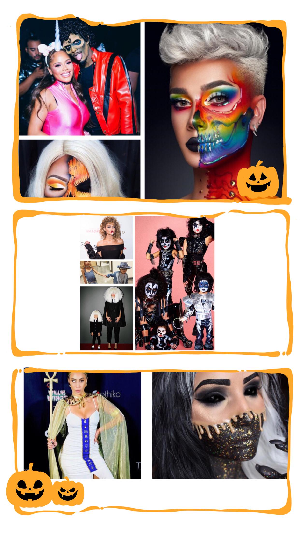 Boo-tiful Halloween looks !