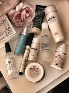 Mes 9 produits de beauté qui composent ma routine skincare de cet automne 2019