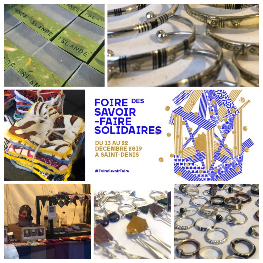 Sortir dans le Grand Paris : Foire des savoir-faire solidaires à Saint-Denis