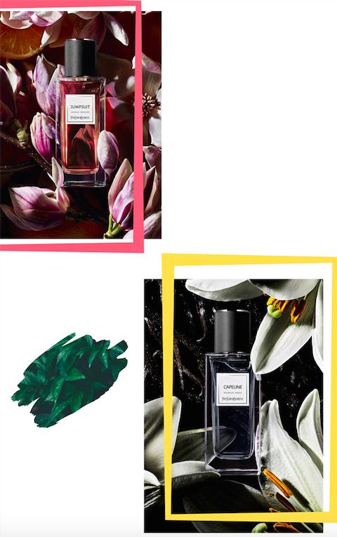 Capeline, Jumpsuit … Du nouveau dans la garde-robe olfactive de Yves Saint Laurent Beauté