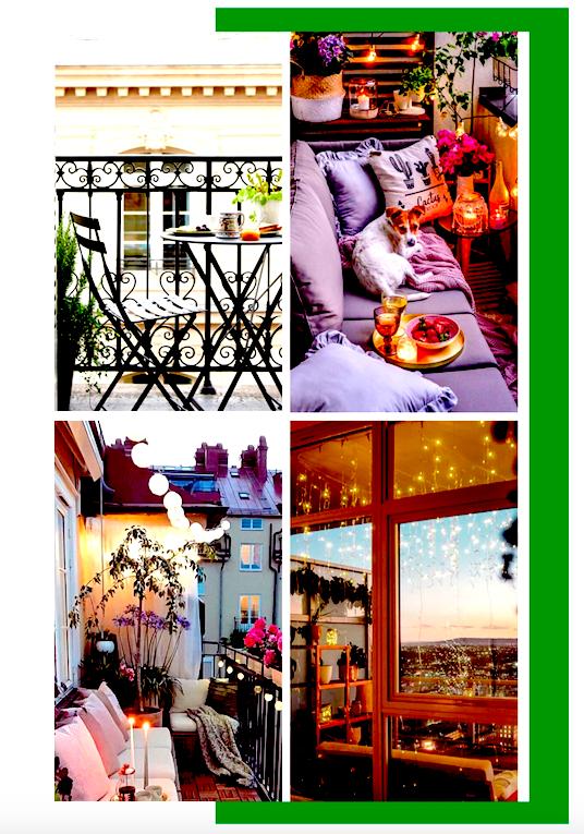 Les plus beaux balcons urbains repérés sur Instagram pendant le confinement