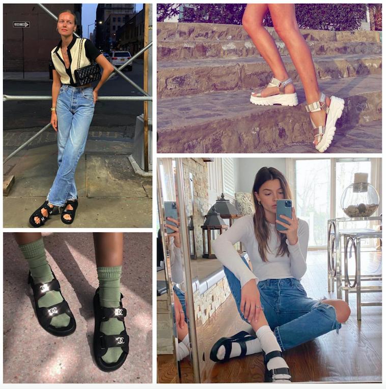 Toutes en dad sandals ce printemps-été 2020  !