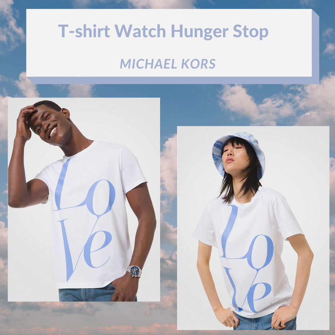 Le t-shirt unisexe Watch Hunger Stop  par Michael Kors