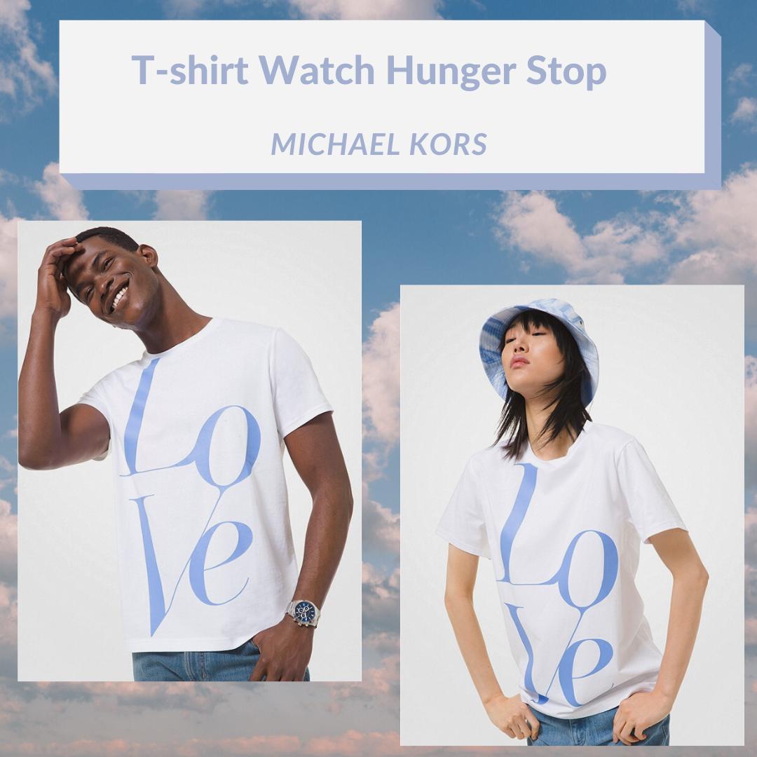 Le t-shirt unisexe Watch Hunger Stop  par Michael Kors