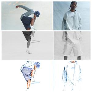 Air Dior : la capsule de prêt-à-porter et accessoires