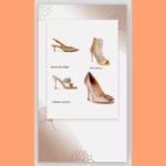 Des chaussures nude pour se marier