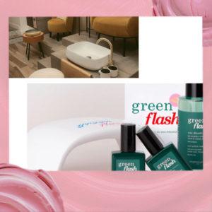 Chez Zenzar, j'ai testé pour vous Green Flash, le premier semi-permanent at home de Manucurist