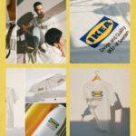 La marque d'ameublement suédois au logo jaune et bleu lance sa collection mode et accessoires baptisée «Efterträda» (au Japon)