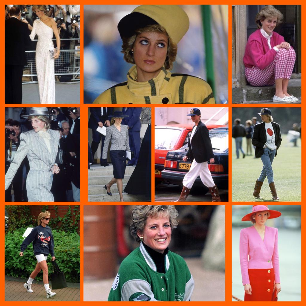 Les plus beaux looks de Lady Diana