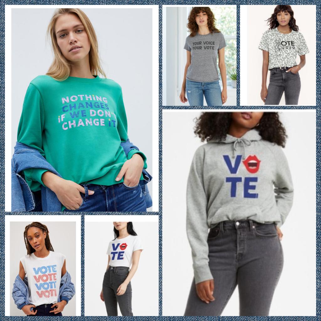 Vote 2020 : quand la mode s'en mêle !