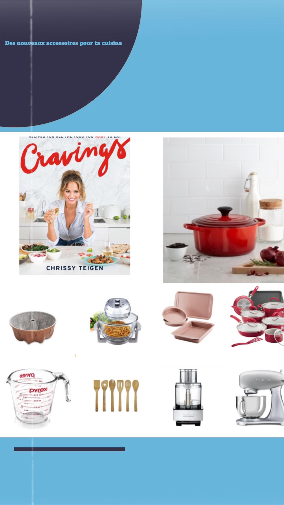 Des nouveaux accessoires pour ta cuisine